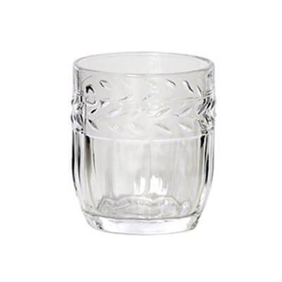 Ornate Glass Tumbler