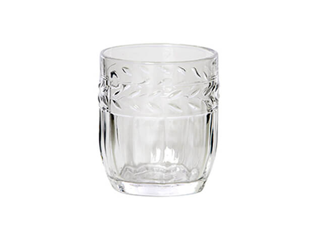 Ornate Glass Tumbler