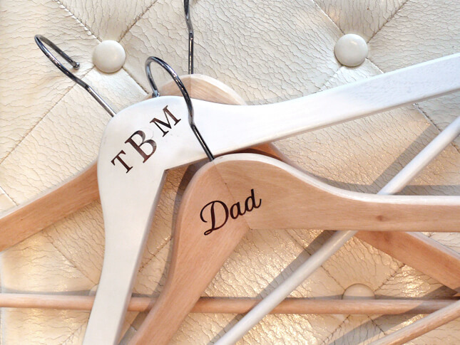 Engraved Hangers