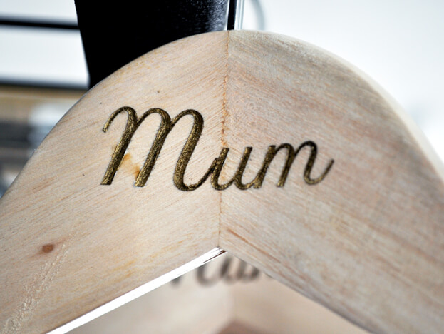 Customised Wooden Hangers
