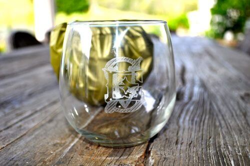 Stemless Wine Glass Set Of 6