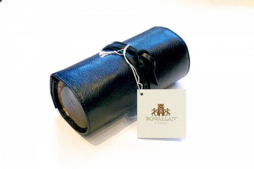 Leather Jewellery Roll By Rowallan