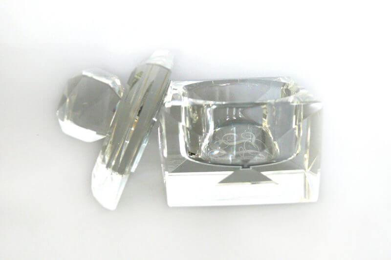 Crystal Jewellery Box Open