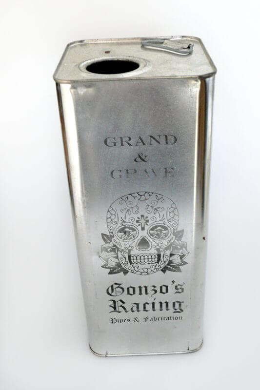 Customised Oil Tin