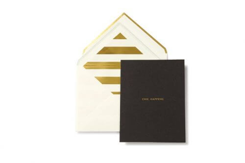 Kate Spade NY Greeting Card Chic Happens