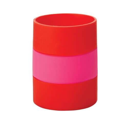 Kate Spade NY Silicone Drink Hugger – Pink And Red