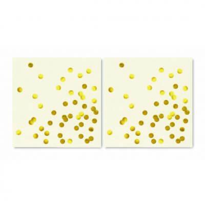 Kate Spade Gold Polka Dot Napkins2