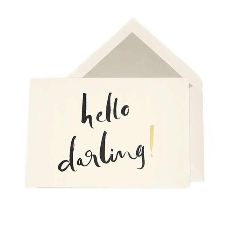 Card Set Hello Darling 3
