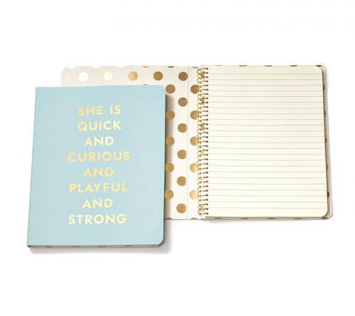 Kate Spade NY Spiral Notebook – Quick & Curious