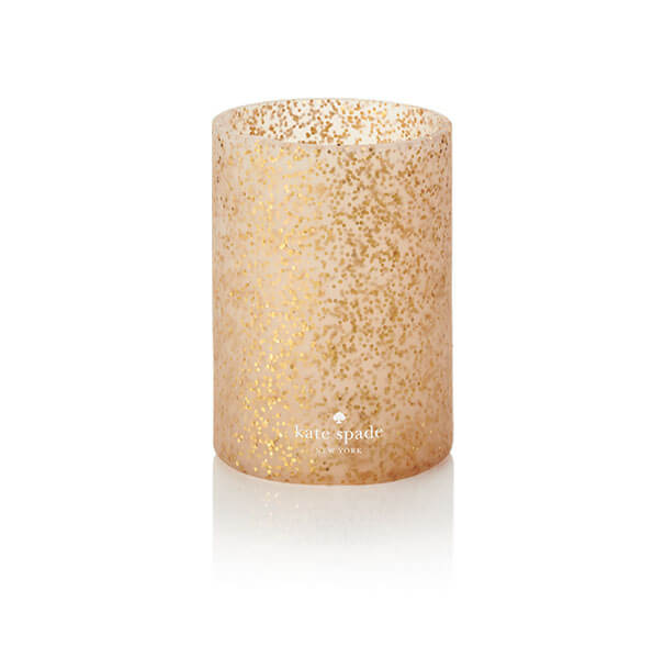 Kate Spade NY Silicone Drink Hugger – Gold Glitter
