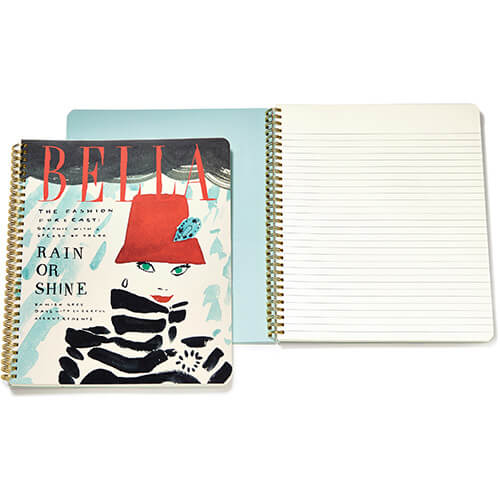 Kate Spade NY Large Spiral Notebook Bella