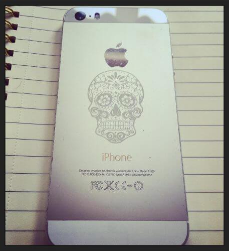 Rockabilly IPhone Engraving