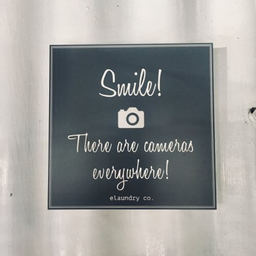 Smile for the Camera Office Sign