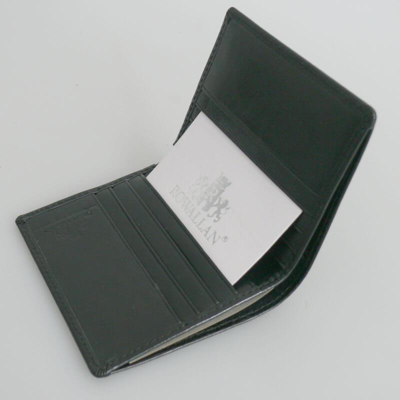 Leather Bi-Fold Wallet By Rowallan Of Scotland