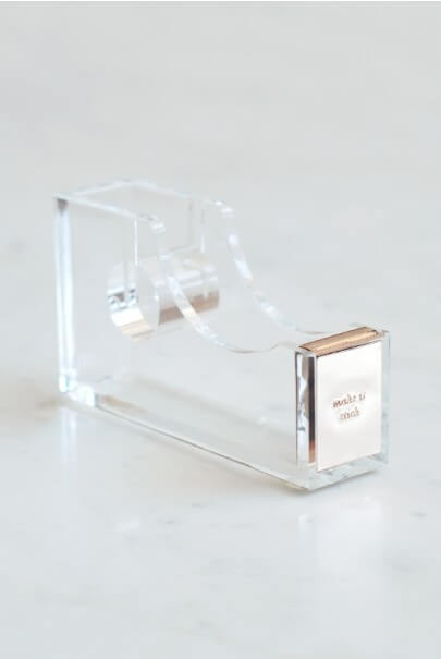 Kate Spade Acrylic Tape Dispenser