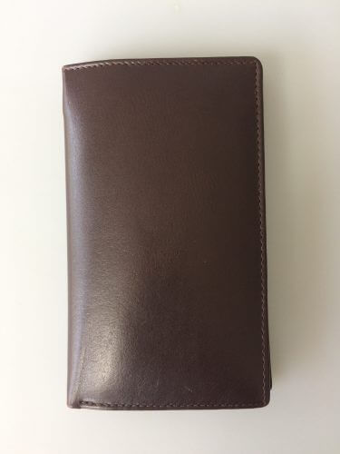Oran Leather Brown Travel Wallet