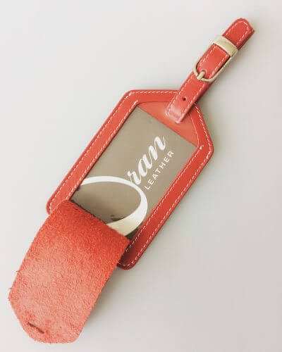 Luggage Tag By Oran Leather