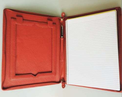 IPad Folio By Oran Leather