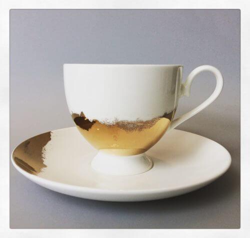 Robert Gordon As Good As Gold Teacup And Saucer Set