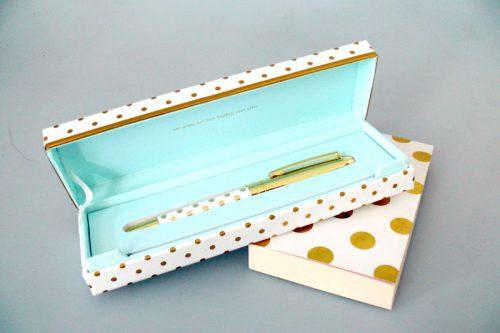 Kate Spade Gold Dots Ballpoint Pen