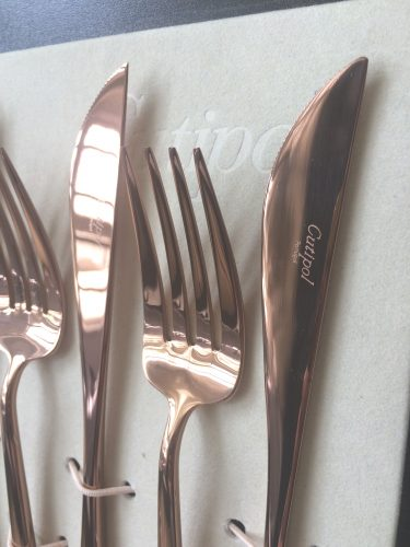 Moon Copper 24 Piece Cutlery Set 4