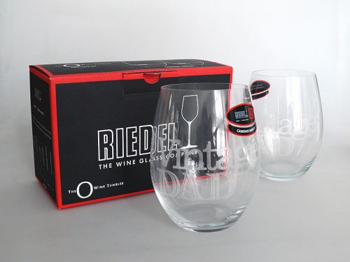 Riedel Stemless Wine Glasses With Box
