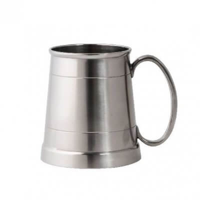 Engraved Pewter Beer Mug Tankard (520ml)